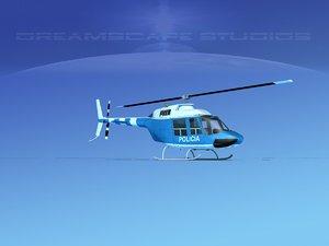 3D model rotor bell 206