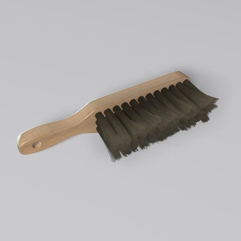 dusting brush 3D model