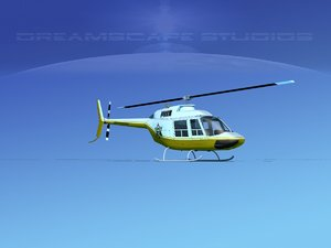 rotor bell 206 3D