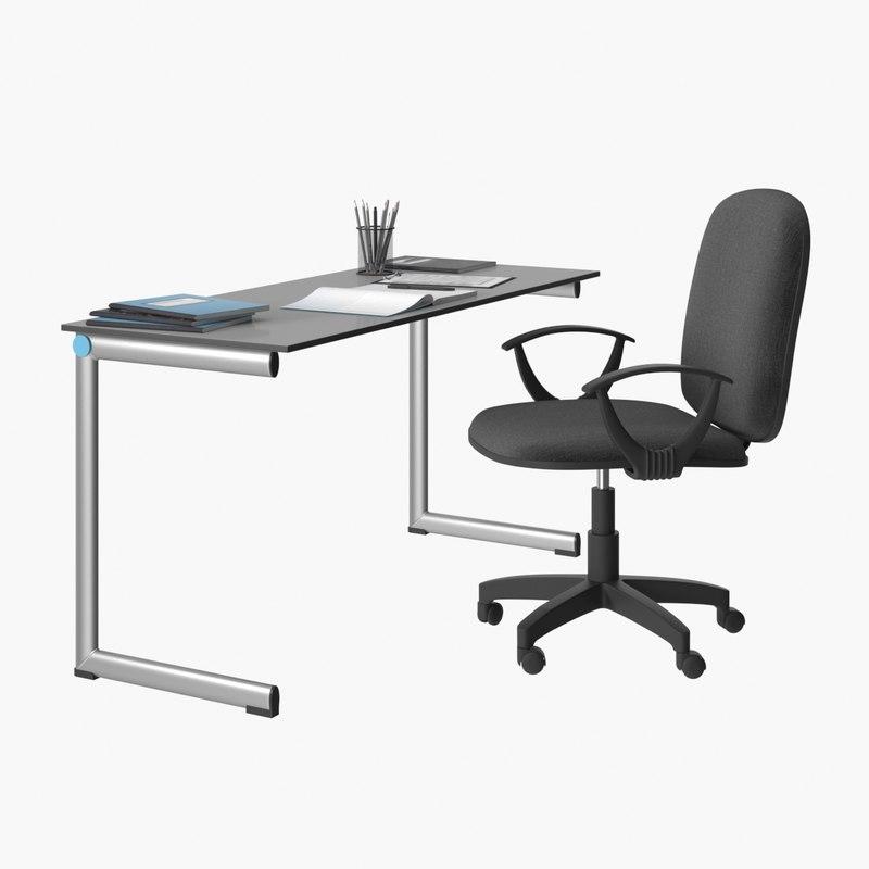 realistic teacher table model