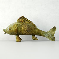 3D large bronze good luck