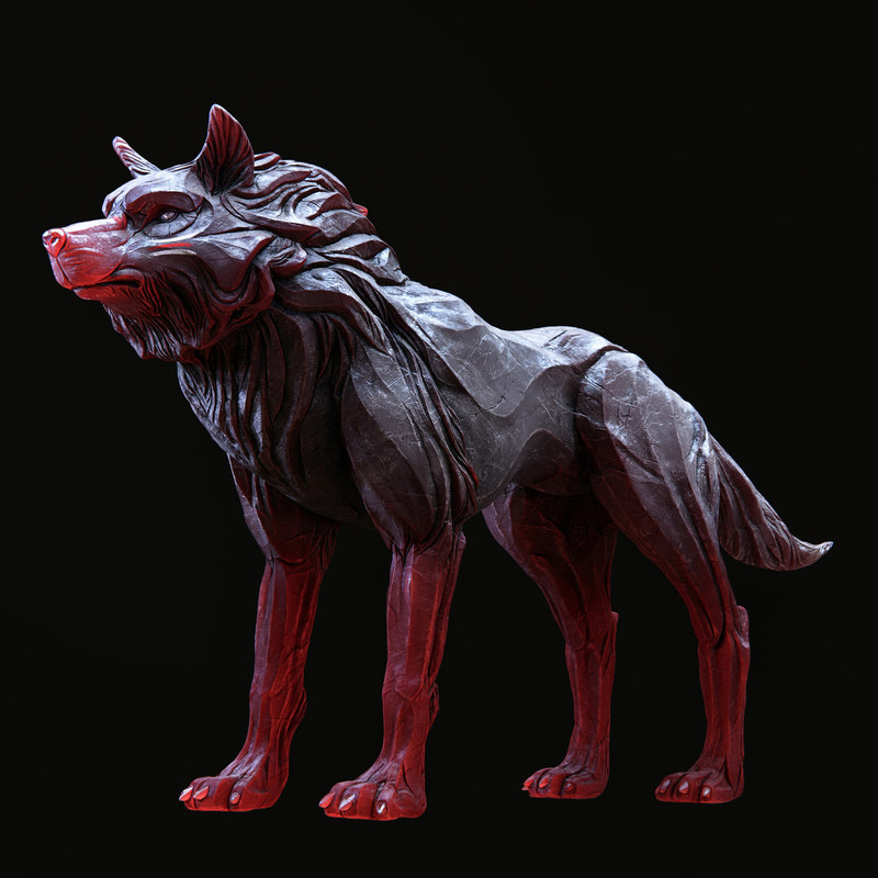 wolf shaman model