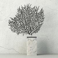 3D natural exotic sea fan model