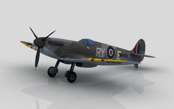 spitfire cz 3D model