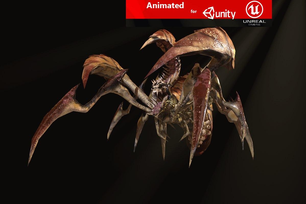 dreadful beetle 3D model