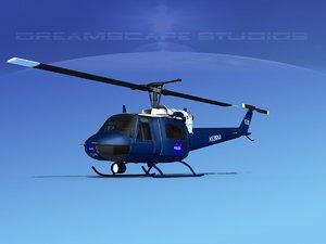 3D bell 205 uh-1b