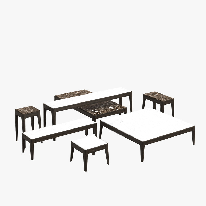 3D model porada ziggy coffee table