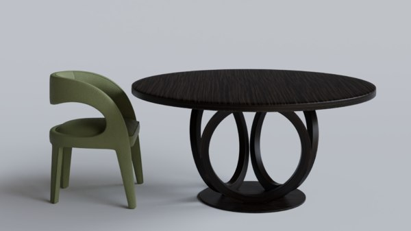 3D table blender cycles