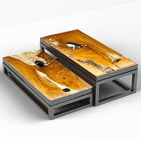 teak coffee tables 3D model