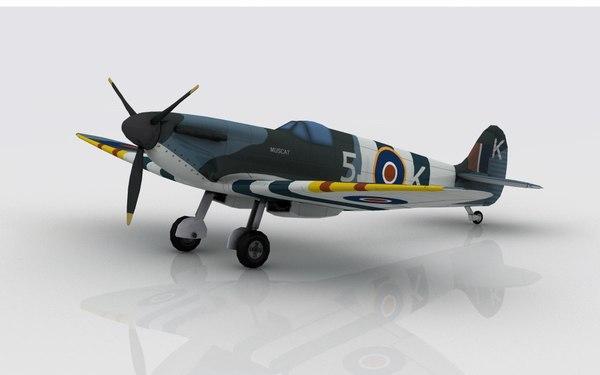 3D spitfire