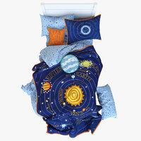 Solar System Bed Set
