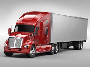 3D tanker trailers model
