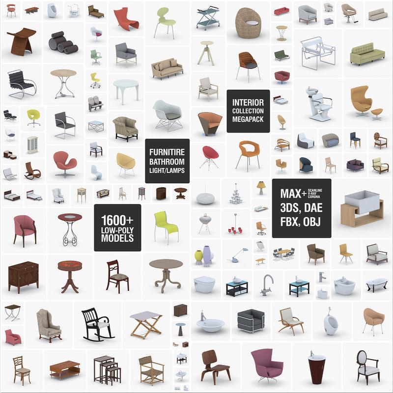 3D - furniture