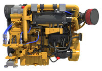 3D propulsion engine model