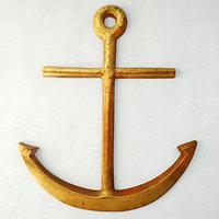 3D vintage nautical folk art