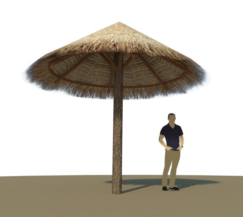 single post cabana model