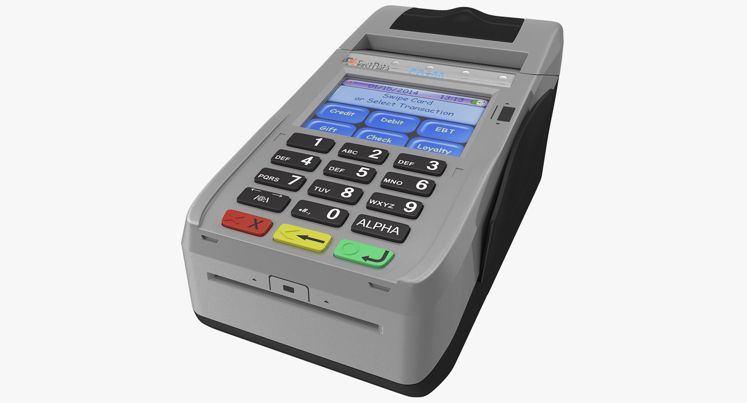 3D card terminal