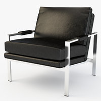 milo leather chair 3D model