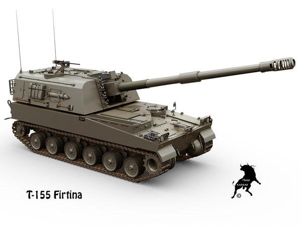 3D t-155 firtina model