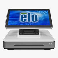 3D mobile pos terminal elo