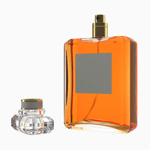 perfume bottle generic 2 3D model