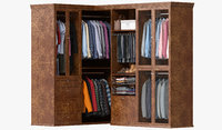 Wardrobe with Clothes 09