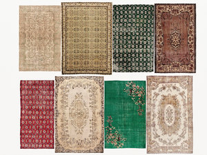 old carpets rugs 3D