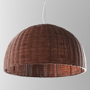wicker odeon light buta 3D