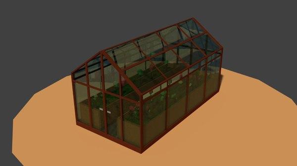 3D house green