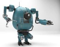 Character Robot PBR