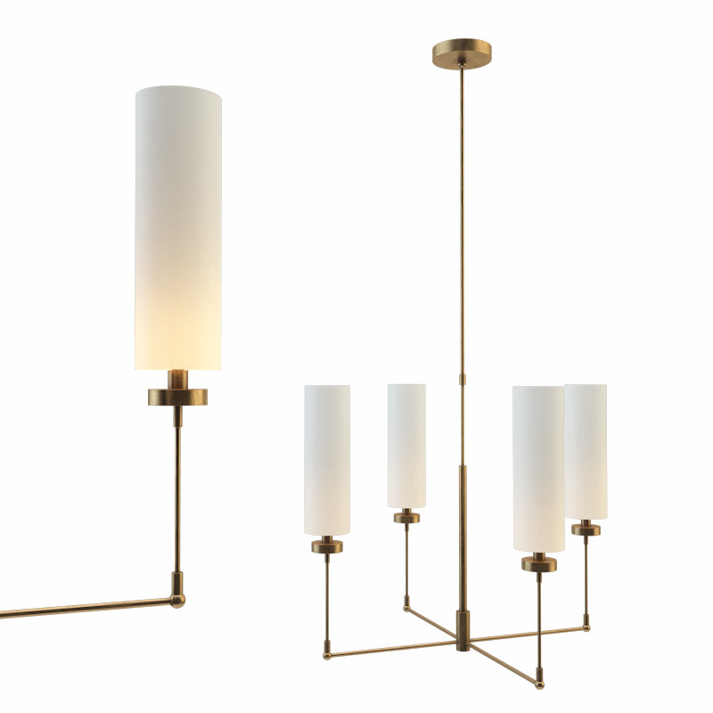 3D ziyi small chandelier