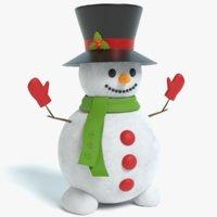snowman x pbr 3D