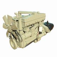 3D diesel engine