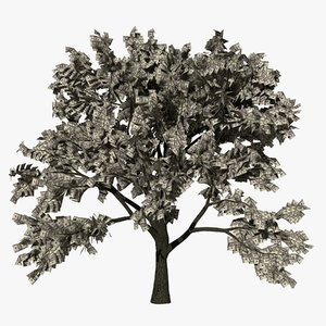 money tree 20s 3D model