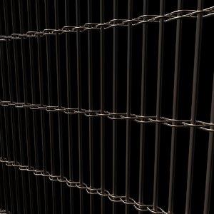 3D metal panel model