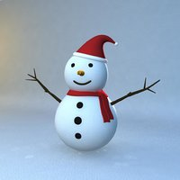 Rigged Snowman