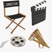 Film Director Set V1