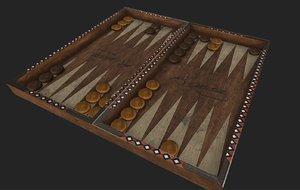 3D texturing games model