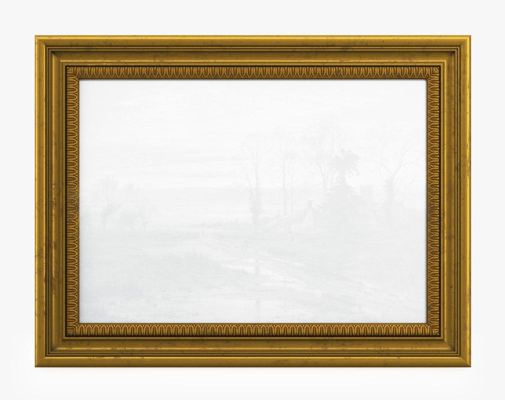 frame picture v08 3D model