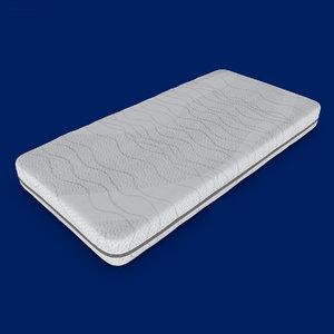 mattress pbr render 3D model