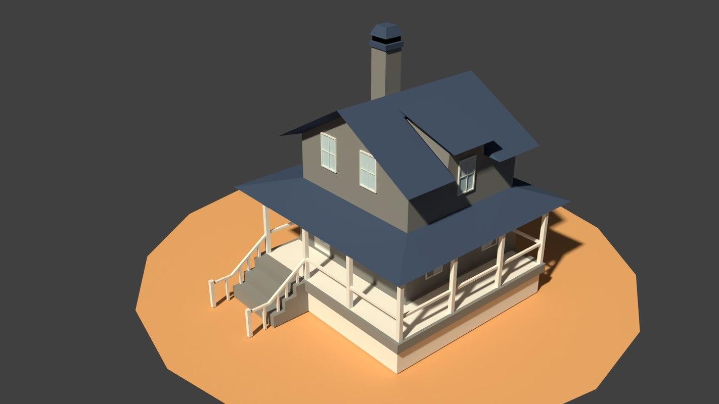 Farm house model turbosquid 1219424 farm house model ccuart Gallery