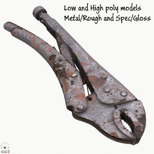 rusty vice grip model