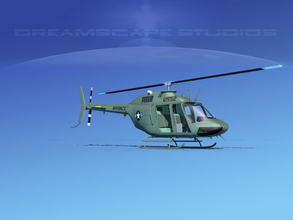 rotor oh-58 bell 206 model