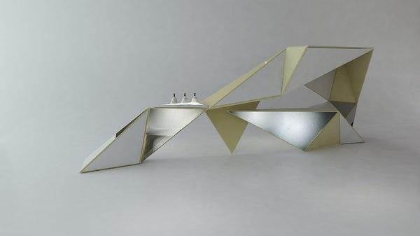 3D counter model