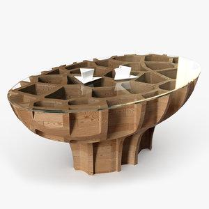 mesa m3 coffee table 3D model