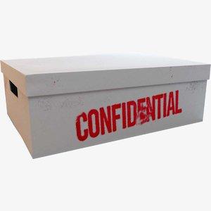 paper box 3D