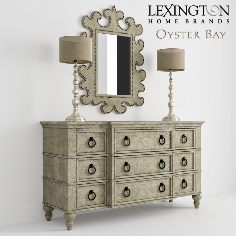 dresser lexington 3D model