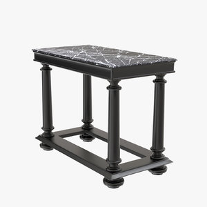 console table brennon eichholtz 3D model