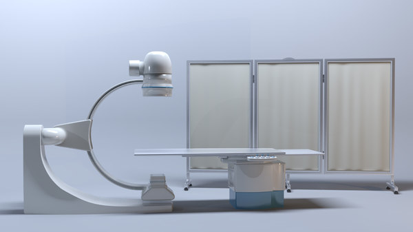 cathlab machine 3D