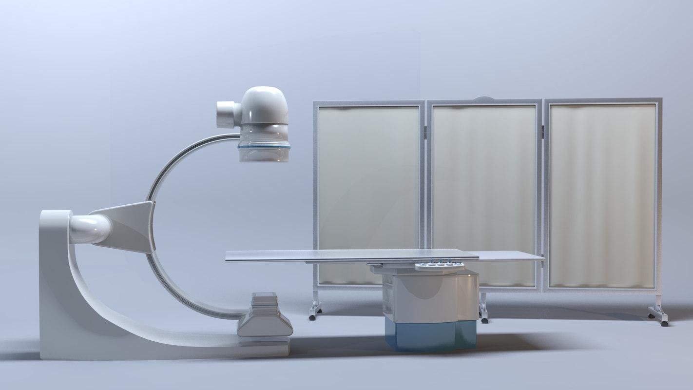 cathlab machine 3D